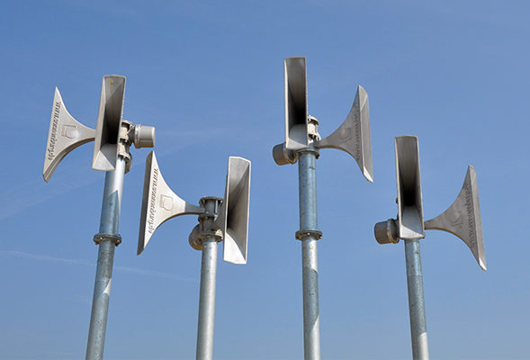 Test des sirènes d'alerte : report le 8 novembre