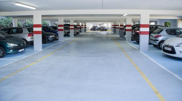 Stationnement Biot