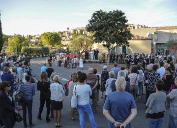 Cérémonie de commémoration des inondations du 3 octobre 2015