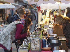 marché de Noël à Biot