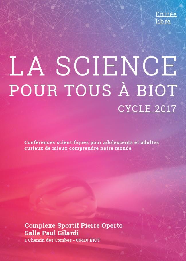 Cycle de conférence scientifique