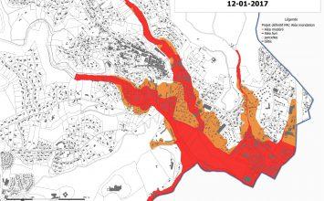 Nouvelle cartographie des zones inondables