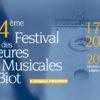 34ème Festival des Heures Musicales de Biot 2017