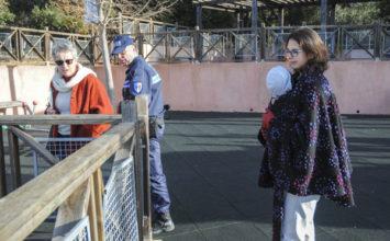 Fermeture temporaire de l'aire de jeux avenue St Philippe