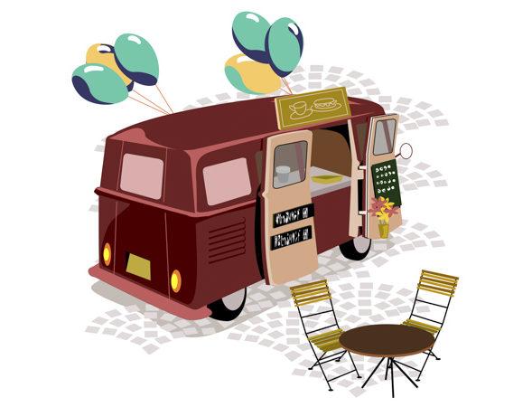 Les Food trucks 2018