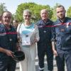récompenses médailles pompiers Biot nuit du 14 juillet 2016