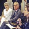 rencontre de la secrétaire d'État et de Mme le Maire