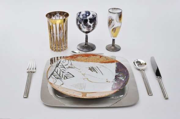 Exposition «Tables sages… tables folles»