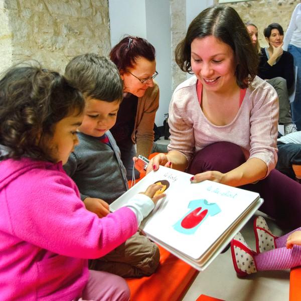 lectures pour enfants Médiathèque