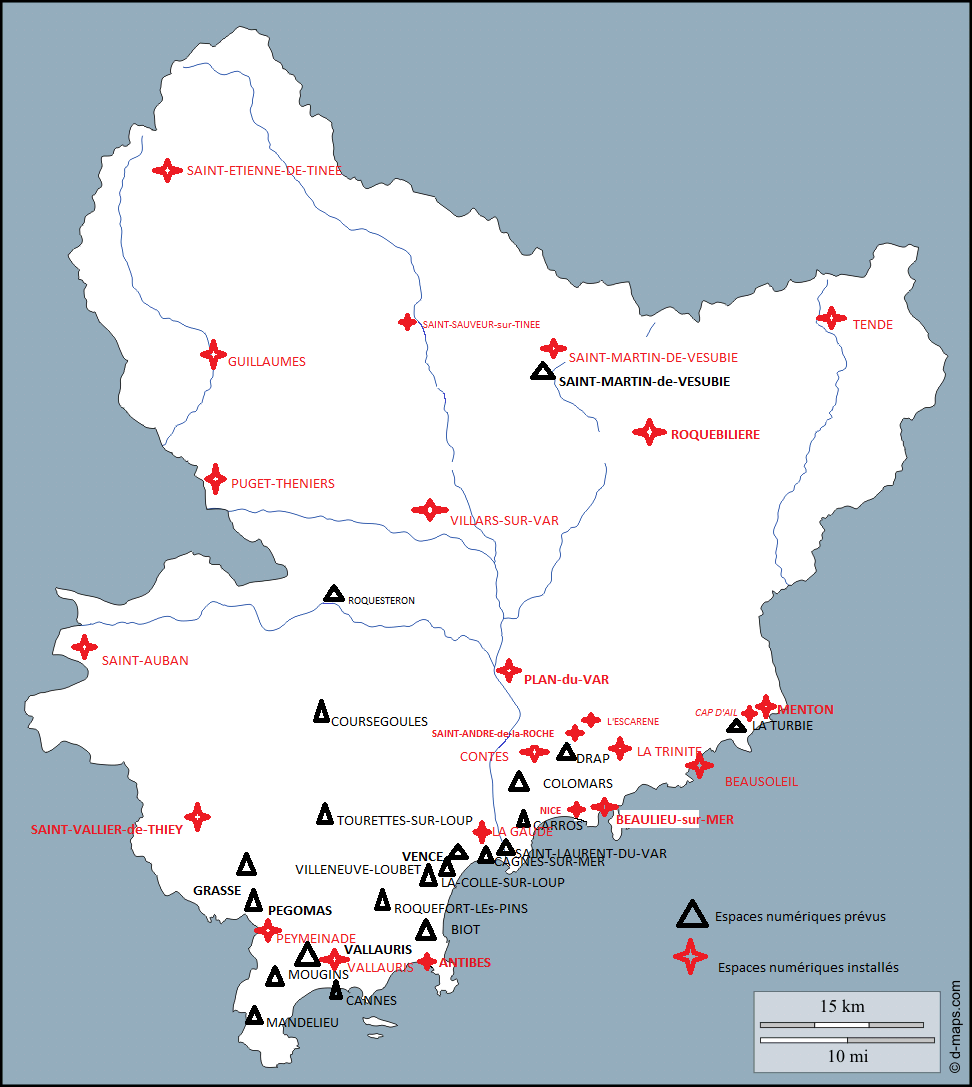 Démarches en ligne cartographie