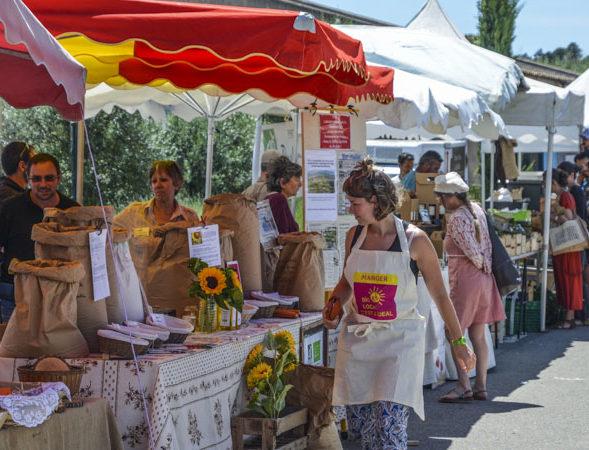 Appel à candidature : marché bio, local et artisanal
