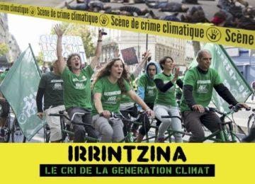 Ciné-débat « Irrintzina : le cri de la génération climat »