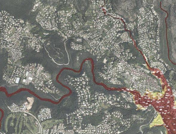 Nouvelle carte du risque inondation des services de l'État