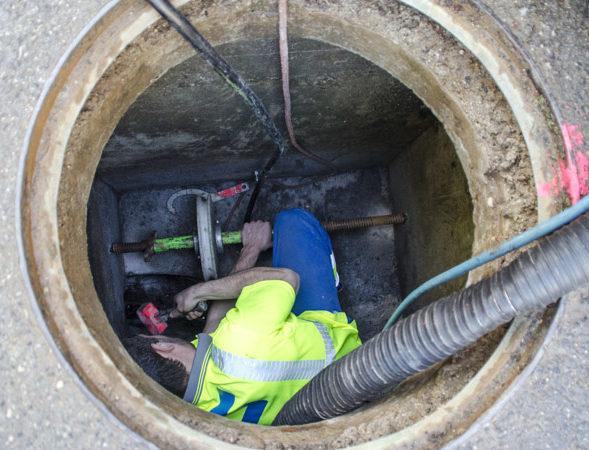 Enquête publique préalable à l'institution de servitudes pour la réalisation d'extension du réseau de collecte des eaux usées dans le quartier de l'Olivaie