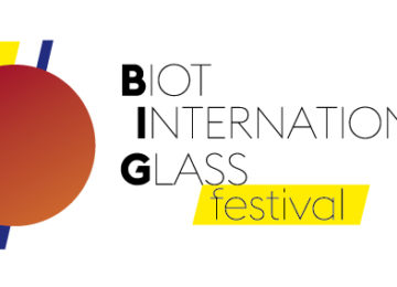 «Biot International Glass festival» Friday 21st to Sunday 23rd September