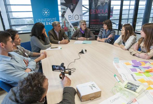 DEMOLA Côte d'Azur : partenaires pour l'innovation