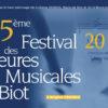 35ème Festival des Heures Musicales de Biot