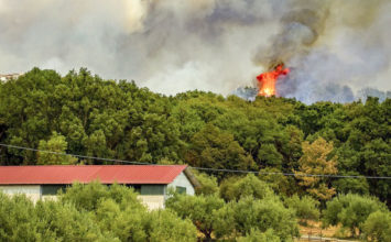 Risque incendie période rouge