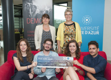 5 étudiants récompensés par la Ville pour leurs travaux