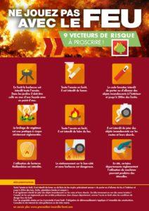 prévention feu période rouge