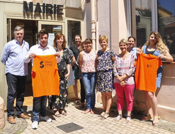 Service civique : la ville de Biot accueille 4 jeunes volontaires