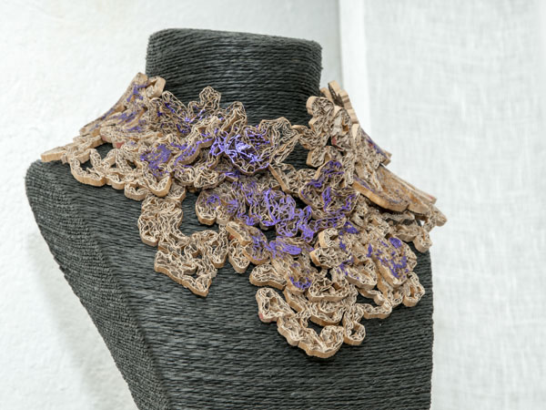 mane phély eco-design sculpture bijoux