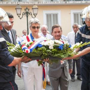 commémoration libération Biot