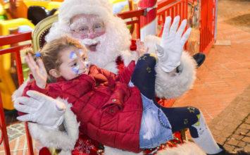 Le Père-Noël à Biot