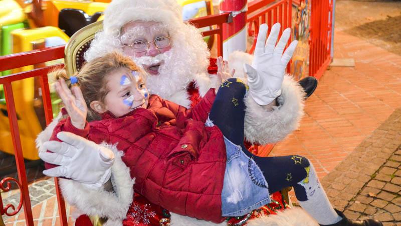 le père Noël à Biot