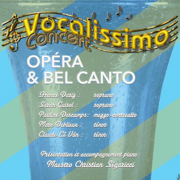 Concert opéra et Bel canto