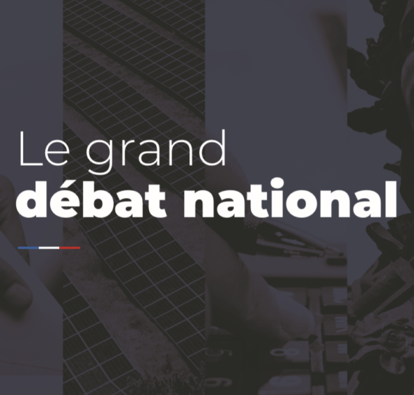 Le grand débat national : clôture des cahiers de doléances le 20 février
