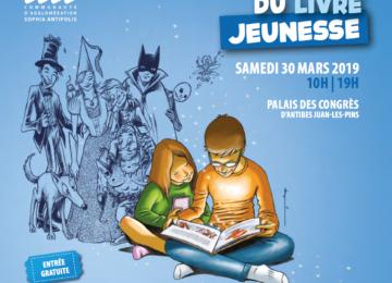 2è édition du Salon du Livre Jeunesse au Palais des Congrès d'Antibes – Samedi 30 mars