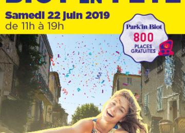 Biot en Fête – Samedi 22 juin