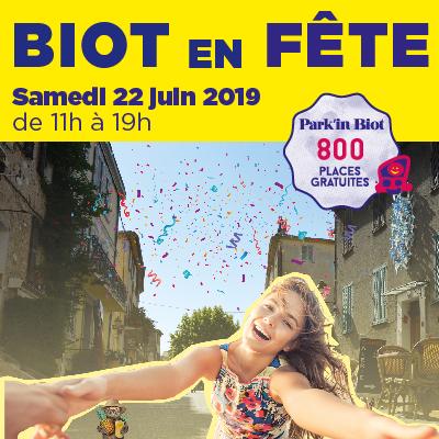 Retour sur Biot en Fête – Samedi 22 juin