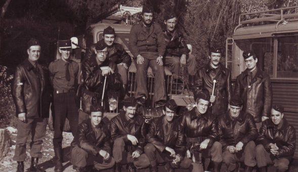 Pompiers de Biot. Source : SDIS 06 / caserne de Biot.