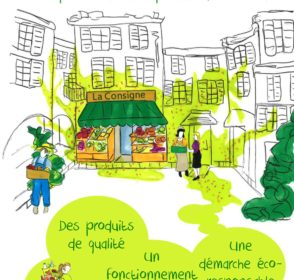 La consigne : le projet d'épicerie coopérative et responsable à Biot