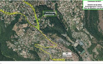 Enquête parcellaire sur l'aménagement du chemin Saint-Julien