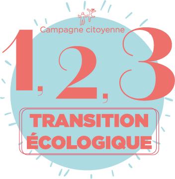 Campagne citoyenne 1,2,3..TRANSITION ÉCOLOGIQUE