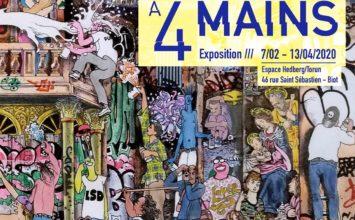 FERMÉE Du 7 février au 13 avril : Exposition «Œuvres à 4 mains» à l'espace Hedberg/Torun