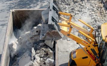 Chemin des Prés : La CASA réalise des travaux de démolition de bâtiments amiantés jusqu'au 5 février
