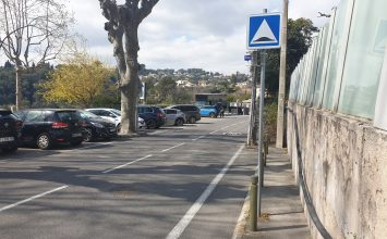 Un compteur de trafic installé chemin neuf