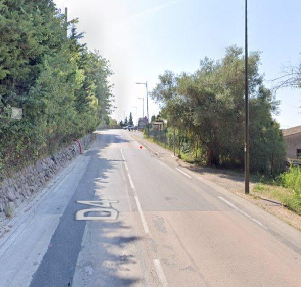 Route de la mer : Travaux d'aménagement d'un chemin piétonnier à partir du 19 avril