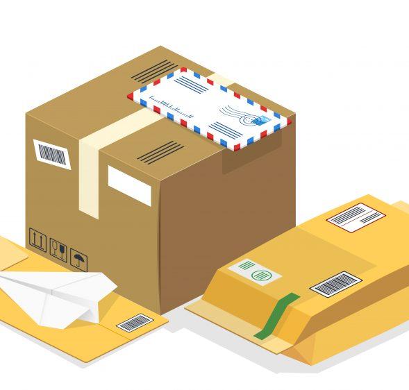 Distribution du courrier chemin des Vignasses