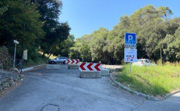 Ouverture du parking de la Baume