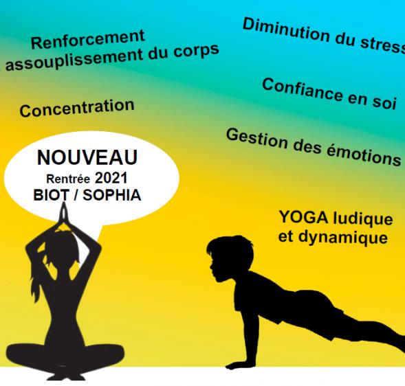 NOUVEAU : L'association Yoguever propose des ateliers yoga pour les ados